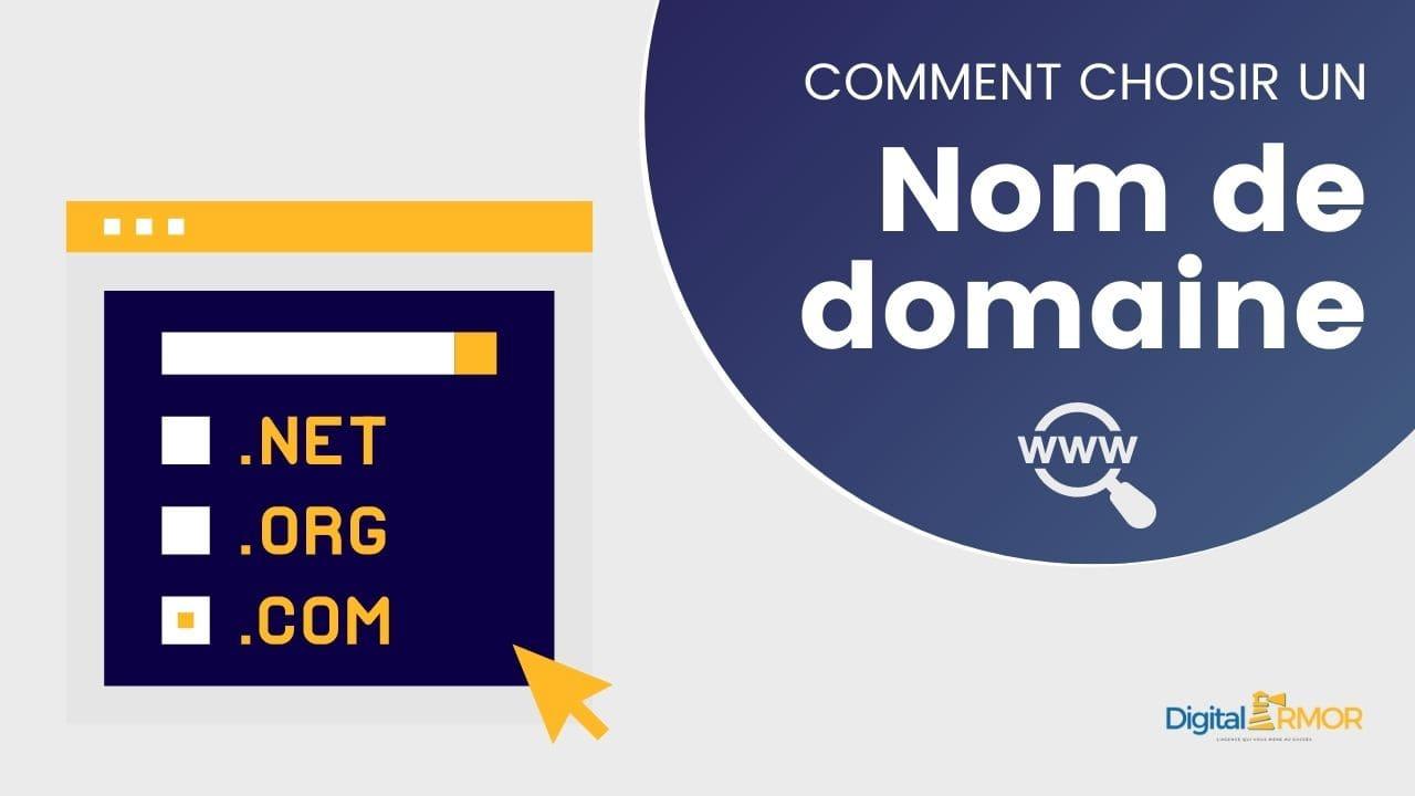 Read more about the article Comment choisir le nom de domaine de son site Internet ?